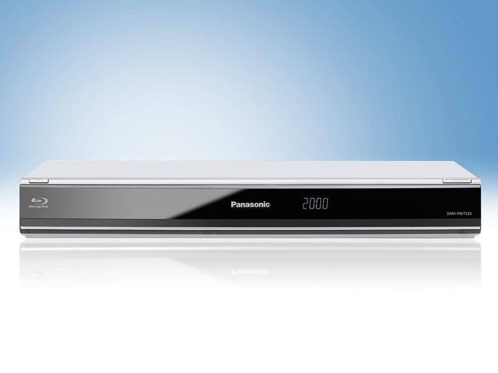 Lecteur - enregistreur Blu-ray 2D / 3D avec double Tuner TNT HD - Panasonic DMR-PWT535EC9