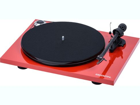 PROJECT ESSENTIAL 3 PHONO Piano Red (avec OM10)