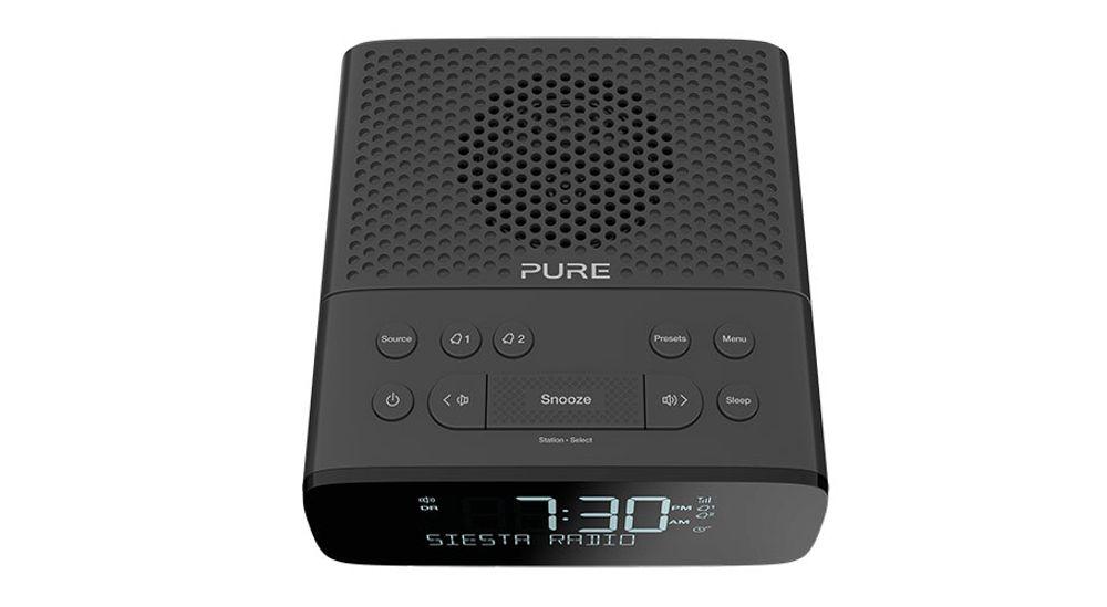 Radioréveil numérique DAB / DAB+ et FM avec présélection - PURE Siesta S2 Graphite