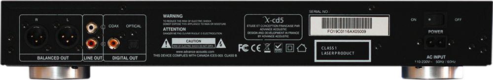 Advance X-CD5