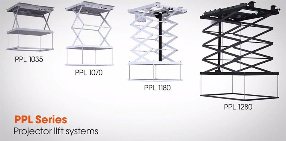 Système d'élévation de vidéoprojecteur jusqu'à 10kg - VOGEL'S PPL 1035