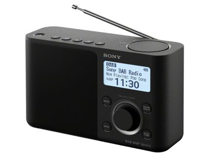 SONY XDR-S61DB Noir
