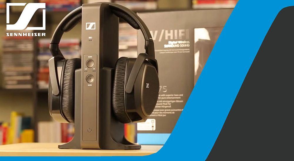 Casque de remplacement Hi-fi et Home cinéma pour système RS 175 - SENNHEISER HDR 175