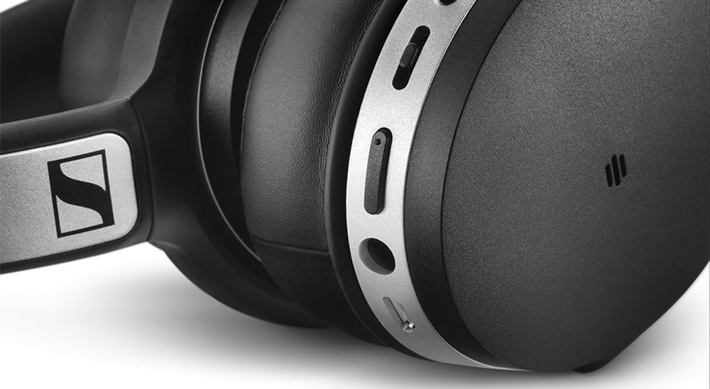 Casque audio circum-aural sans fil Bluetooth® 4.0 aptX® avec technologie NoiseGard™ -  SENNHEISER HD 4.50 BTNC Wireless