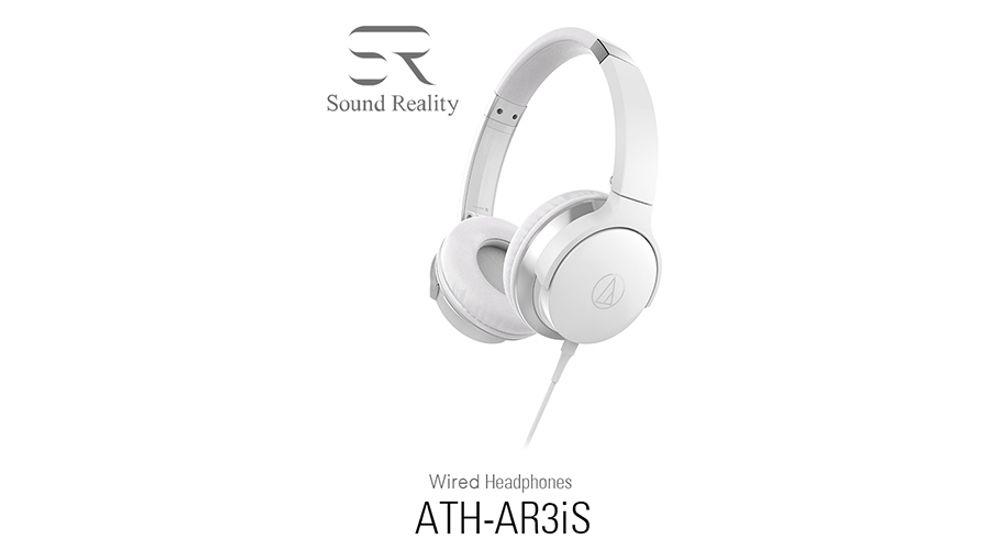 Casque audio supra-auriculaire avec transducteurs de 40 mm - AUDIO-TECHNICA ATH-AR3iS