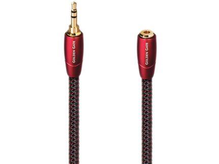 AUDIOQUEST Golden Gate Mini-Jack 3.5mm mâle/femelle (5m)