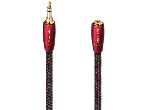 AUDIOQUEST Golden Gate Mini-Jack 3.5mm mâle/femelle (5m)