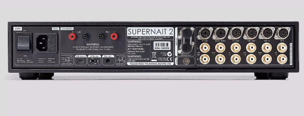 Ampli hi-fi Naim SuperNait 2