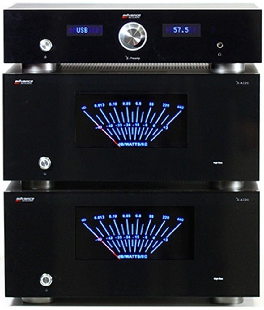 Ampli Advance Acoustic X-A220 : 220 Watts sous 8 Ohms pour ce monstre de puissance !