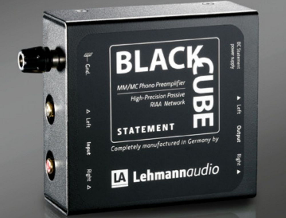 Préampli phono MM/MMC Lehmann Black Cube Statement