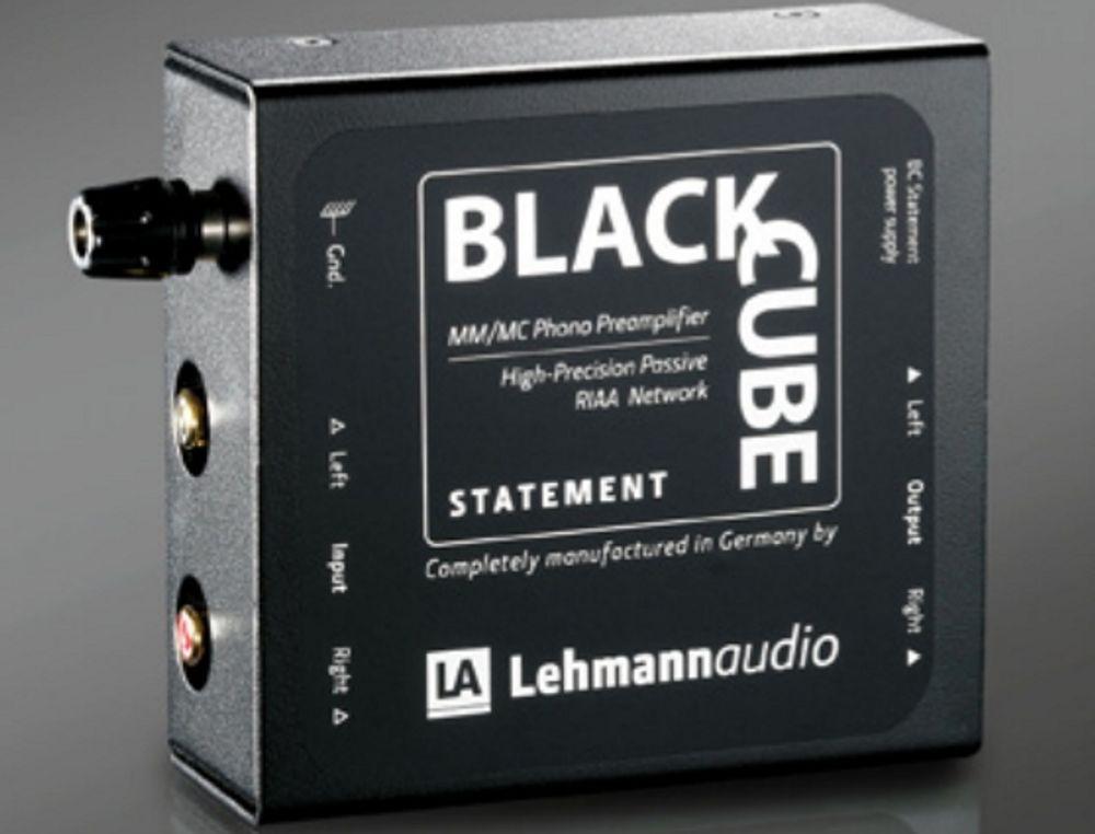 Préampli phono MM/MMC Lehmann Black Cube Statement