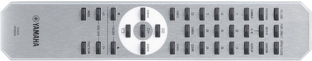 Télécommande livrée avec le Yamaha CD-S300