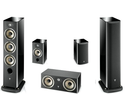 FOCAL Pack 5.0 ARIA 926 + CC900 + 906 Black
