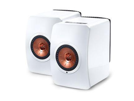 KEF LS50 Wireless Blanc (la paire) (Modèle EXPO)