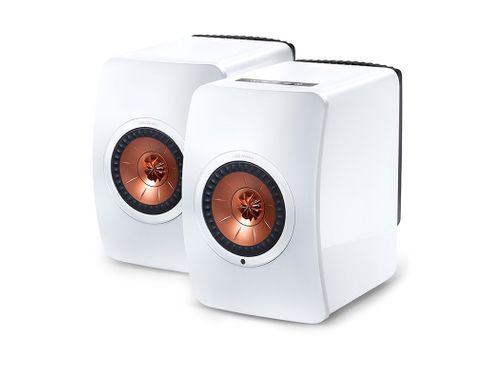 KEF LS50 Wireless Blanc (la paire)