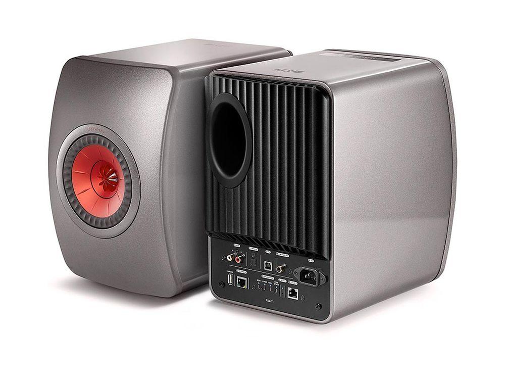 kef ls50 wireless titanium enceintes biblioth que. Black Bedroom Furniture Sets. Home Design Ideas