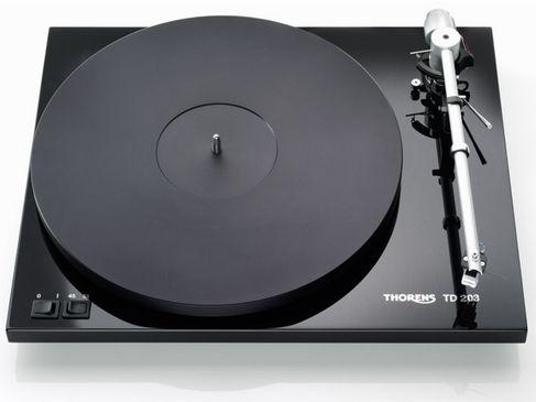 THORENS TD 203 Noir (Modèle Expo)
