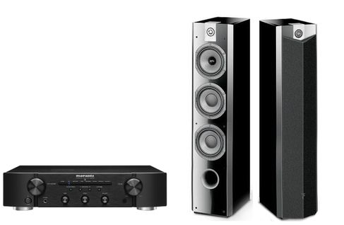MARANTZ PM6006 Noir + FOCAL Chorus 726V High Gloss