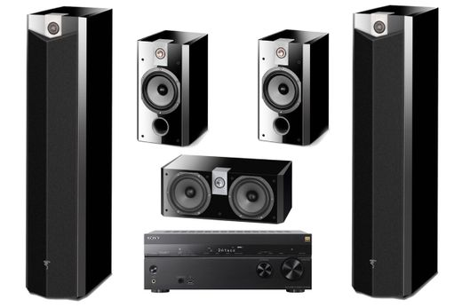 SONY STR-DN1080 + FOCAL PACK 716 High Gloss