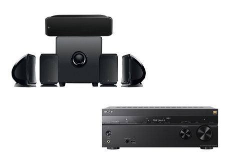 SONY STR-DN1080 + FOCAL Cinema Plus