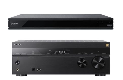 SONY STR-DN1080 + UBP-X800