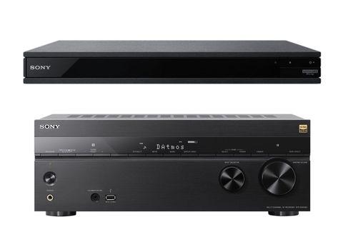 SONY STR-DN1080 + UBP-X800M2