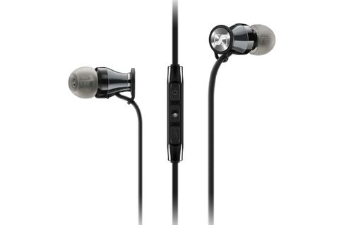 SENNHEISER MOMENTUM In-Ear i Noir/Chrome (Apple)
