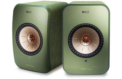 KEF LSX Vert (la paire) (Stock B)