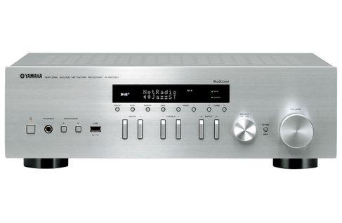 YAMAHA MusicCast R-N402D Silver