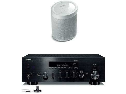 YAMAHA R-N803D Noir + MusicCast 20 Blanc