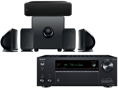 ONKYO TX-NR696 Noir + FOCAL Pack Cinema Plus