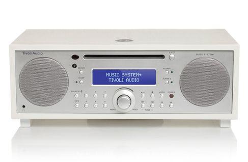 TIVOLI Music System+ Blanc/Silver