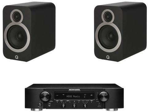 Marantz NR1200 Noir + Q Acoustics 3020i Noir
