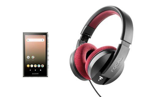 SONY NW-A105 VERT + FOCAL LISTEN PRO
