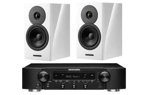 Marantz NR1200 Noir + DYNAUDIO EVOKE 10 White High Gloss