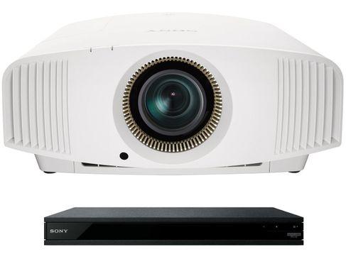 SONY VPL-VW570ES Blanc + UBP-X1100ES