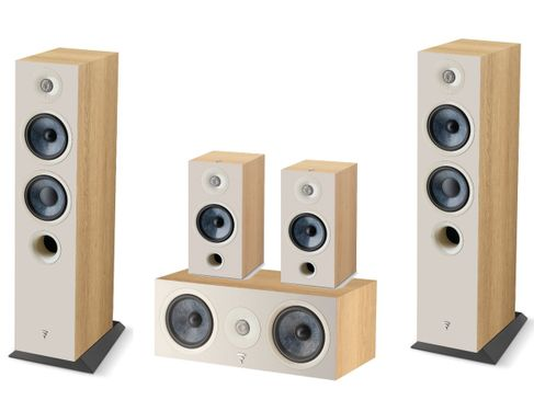 Focal Pack 5.0 Chora 816 + Chora Center + Chora 806 Light Wood