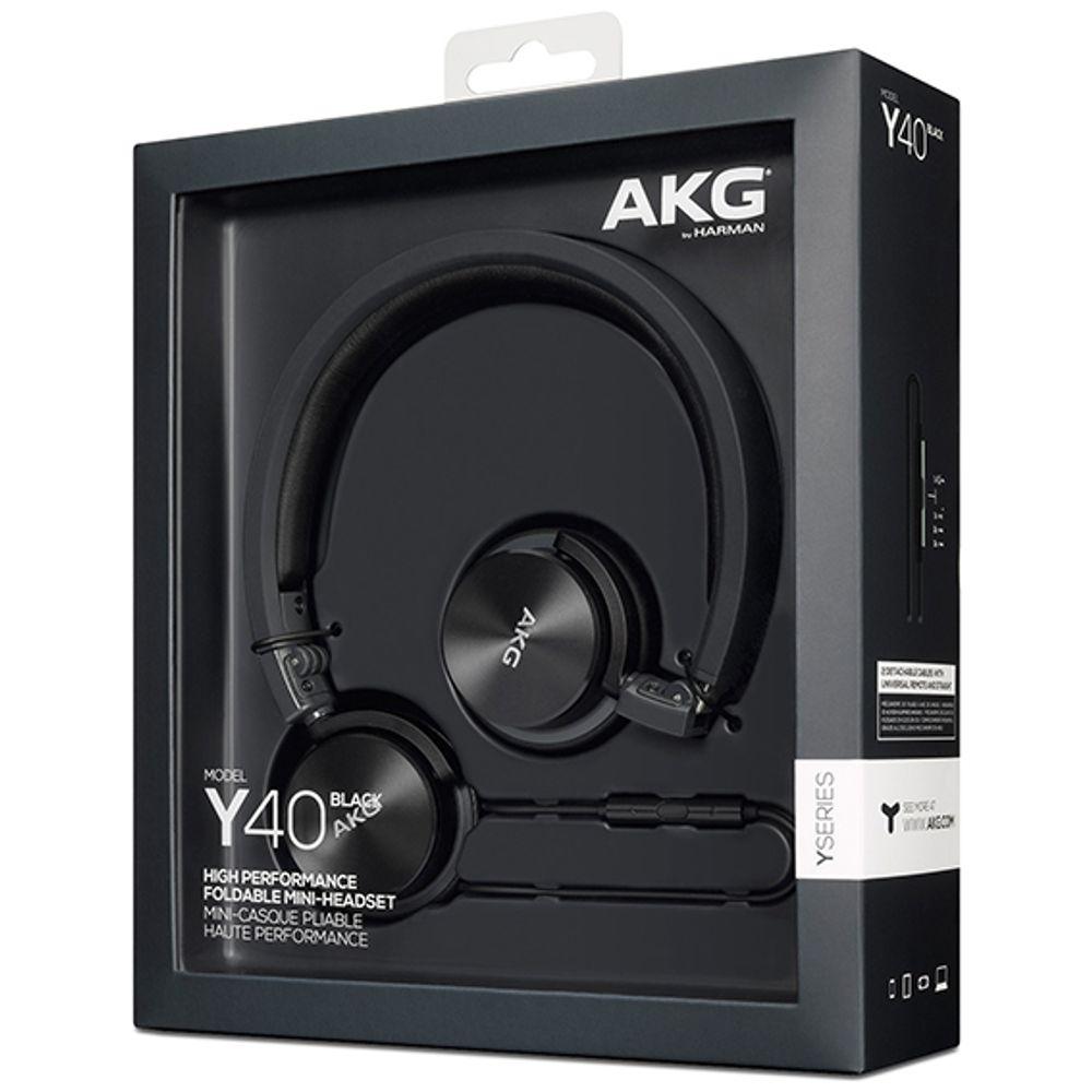 'Casque audio supra-auriculaire avec connectivité Bluetooth et NFC - AKG Y45BT