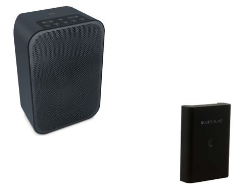 BLUESOUND PULSE FLEX 2i Noir + Batterie BP100