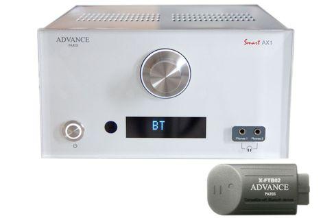 ADVANCE PARIS Stream AX1 Blanc (AX1 + X-FTB02)
