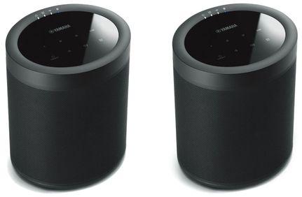 2 x YAMAHA MusicCast 20 (WX-021) Noir