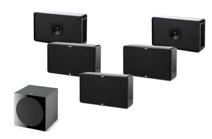 Pack 5.1 JAMO D500 Noir THX Select 2 + FOCAL SUB 600P