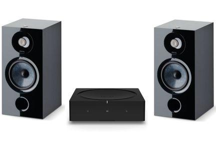 SONOS AMP Noir + FOCAL CHORA 806 Black