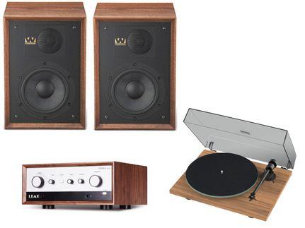 Leak Stereo 130 + ProJect T1 + Wharfedale Denton 85 Walnut
