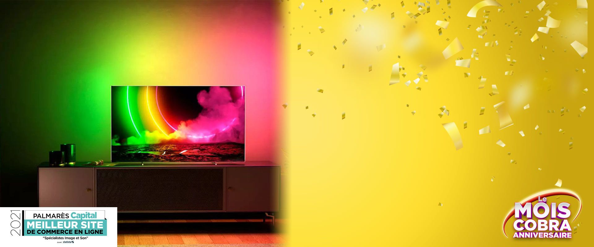 TV PHILIPS LED & OLED AMBILIGHT