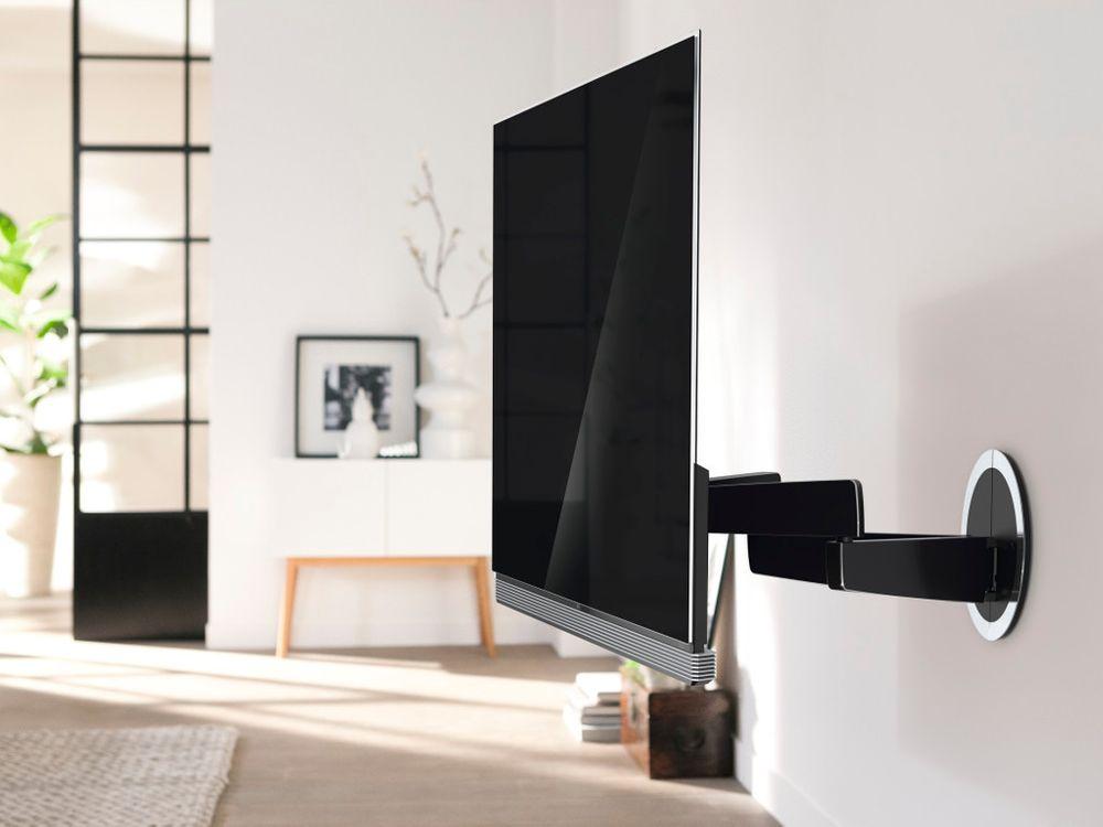 finest support mural vogelus next lg oled g e c et b with quel support mural tv. Black Bedroom Furniture Sets. Home Design Ideas